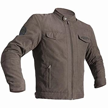 RST 2296 Crosby Textile Ce Motorcycle Textile Jacket Brown Size 42