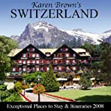 Karen Brown's Switzerland, Clare Brown and Karen Brown, 1933810289