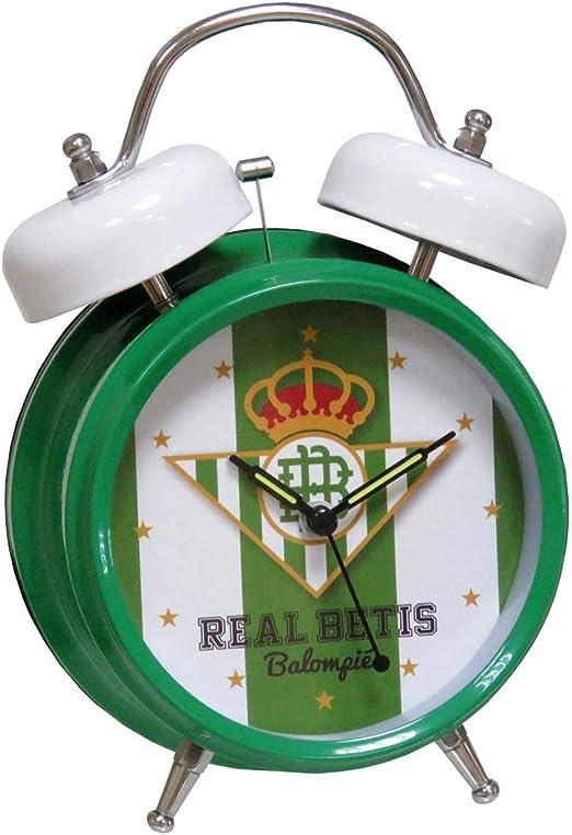 Betis DM-01-BT Despertador Musical Himno Betis: Amazon.es: Juguetes y juegos