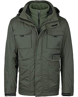 54f0094878 MECASTAR Mens Snowboard Ski Jacket 3-in-1 Waterproof Windproof Warm Winter  Shell with