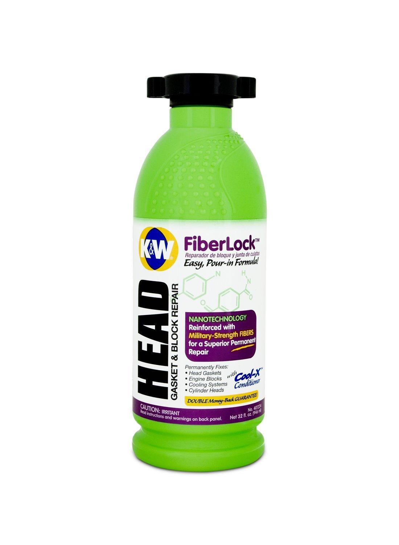 K&W 401224-6 FiberLock Head Gasket & Block Repair - 32 Fl Oz by K&W