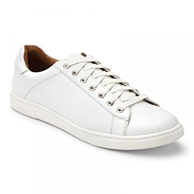 Mott Baldwin - Men's Leather Lace-up Shoe White