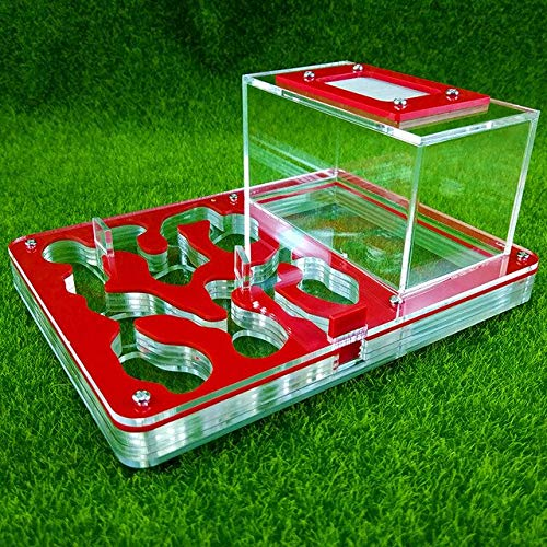 KDGPUM Big Size New Design DIY with Feeding Area Ant Nest Ant Farm Acrylic Villa Pet Mania for House Ants Insect Ant Workshop   01