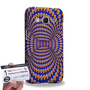 Case88 [Samsung Galaxy Core Prime G360] 3D impresa Carcasa/Funda dura para & Tarjeta de garantía - Art Fashion Visual Art Effect 17