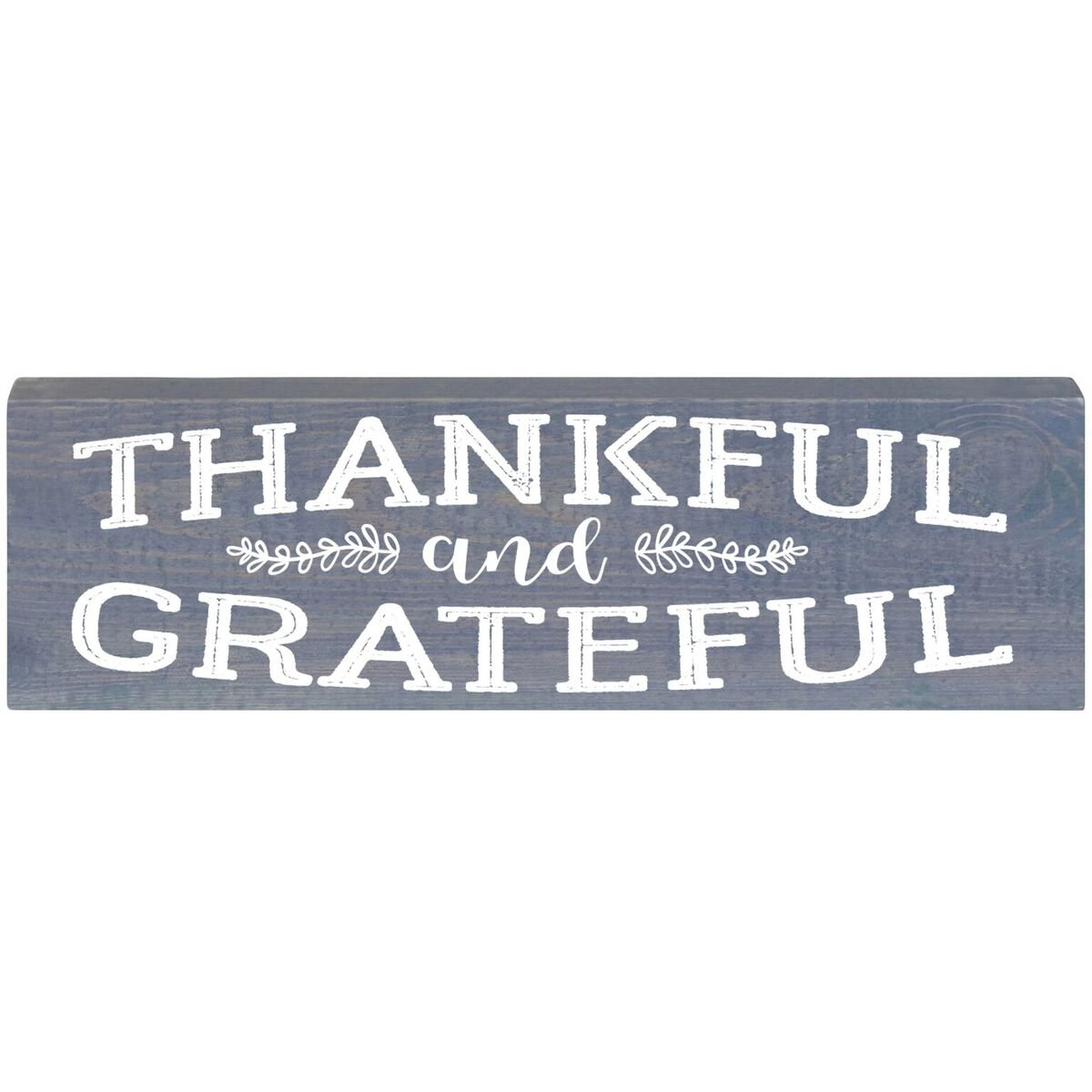 Amazon Thankful And Greatful Inspirational Pine Block