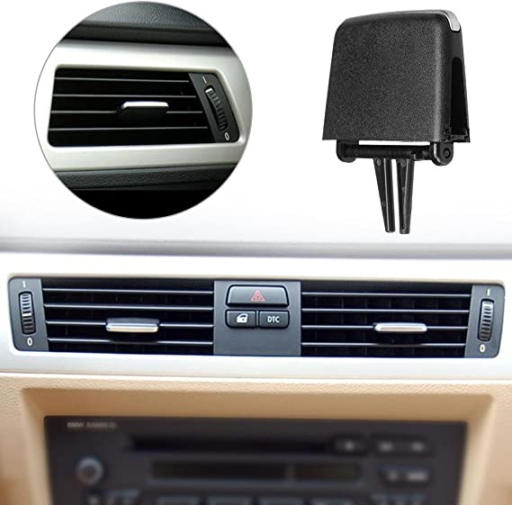 Bediffer Clip per Linguetta per Presa dAria Clip per Linguetta per Presa dAria Superiore Nera Universale per Auto