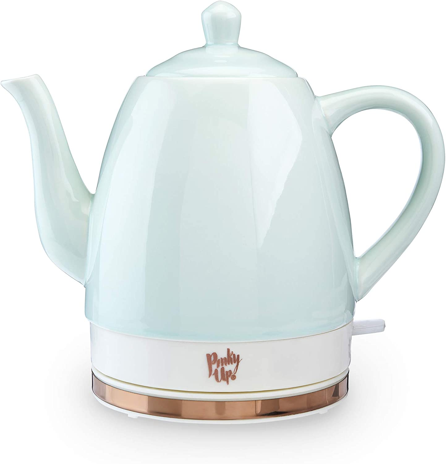 Pinky Up Glassware Electric Tea Kettle