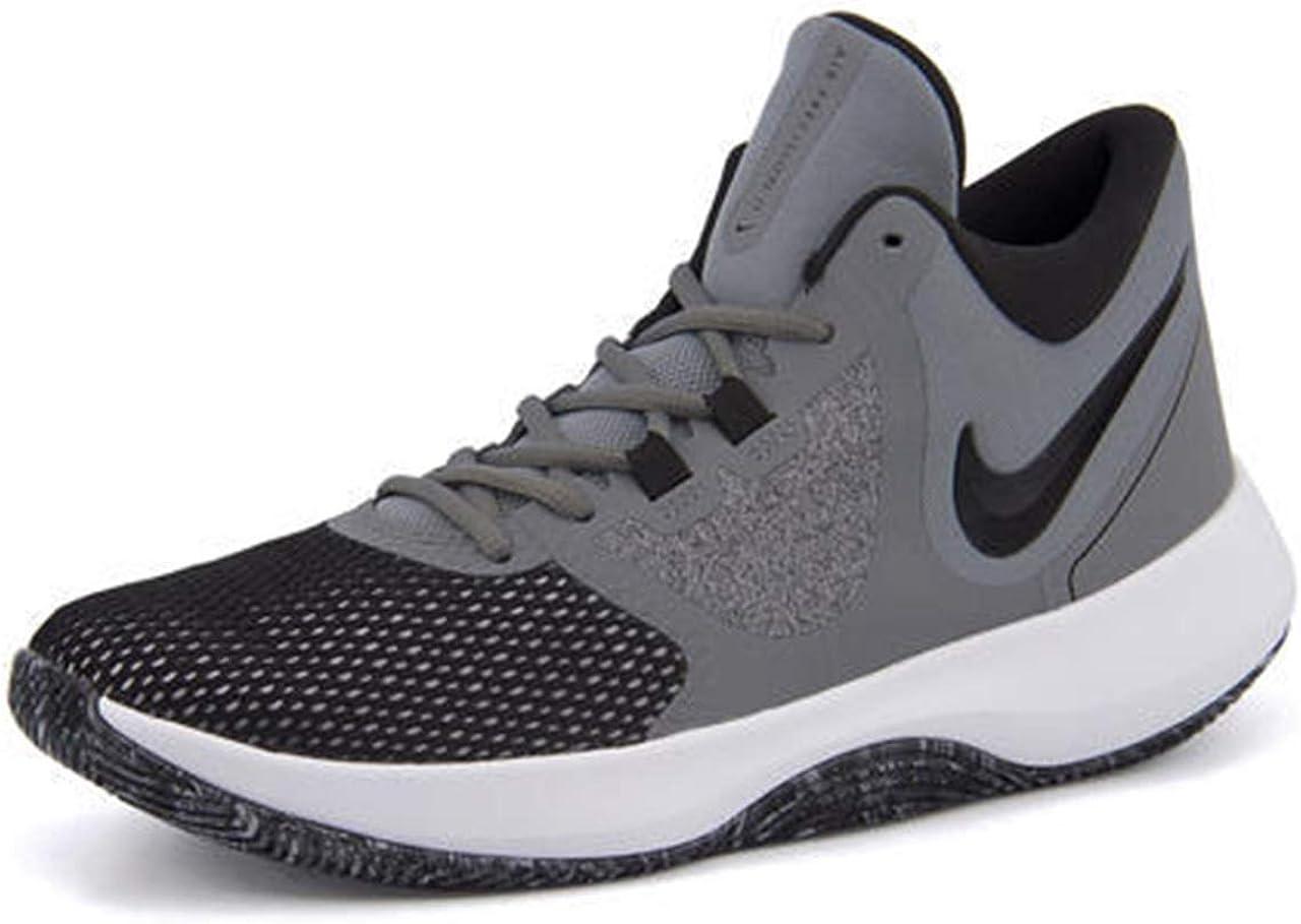 Pero Enemistarse Escritura  Amazon.com   Nike Mens AIR Precision NBK Cool Grey Black White Size 13    Basketball