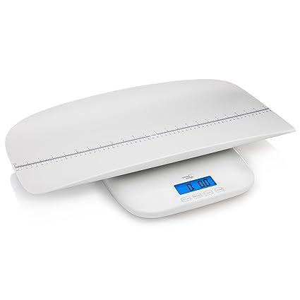 Smart Weigh Digital Baby, Balanza para Niños Pequeños / Adultos con 4 Modos de Pesaje