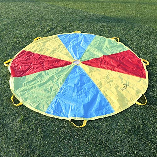 AjaxStore - 20x4x15CM Child Kid Sports Development Outdoor Umbrella Parachute Toy Jump-sack Ballute Play Parachute by AjaxStore (Image #5)