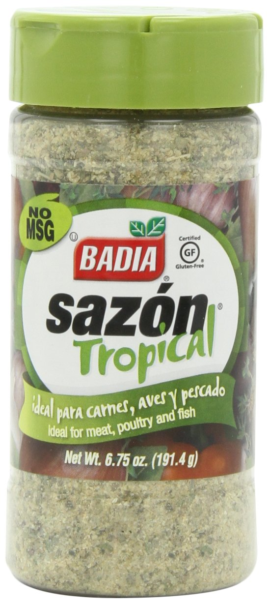 Badia Sazon Tropical, 6.75-Ounce (Pack of 6)
