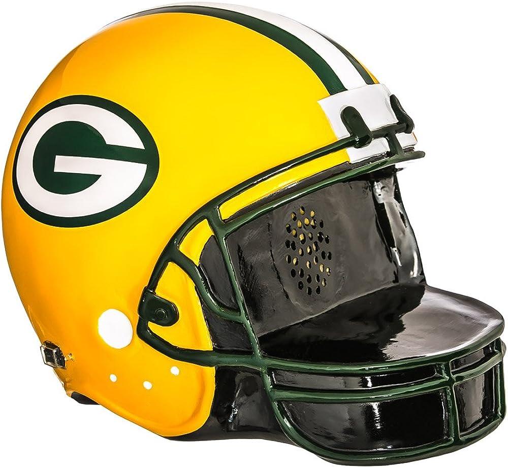 Team Sports America NFL Green Bay Packers Helmet, Green