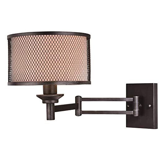 Amazon.com: Polk instalux Swing brazo candelabro de pared en ...