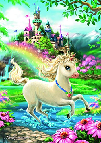 Ravensburger Unicorn Castle 35 Piece Jigsaw Puzzle for Kids – Every Piece is Unique, Pieces Fit Together Perfectly by Ravensburger