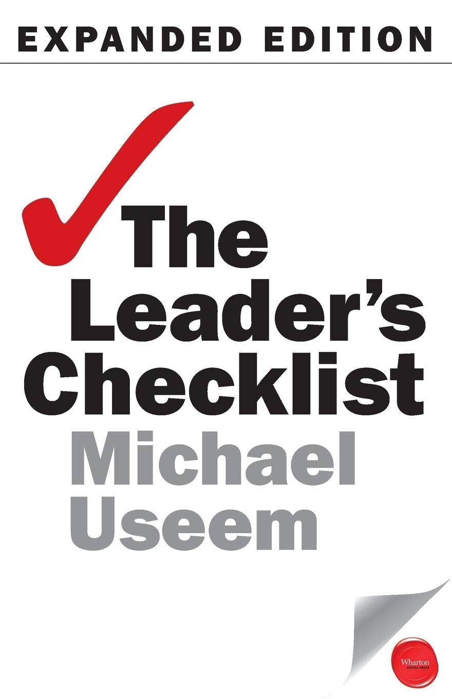 CHECK: Practical Checklists for Leaders