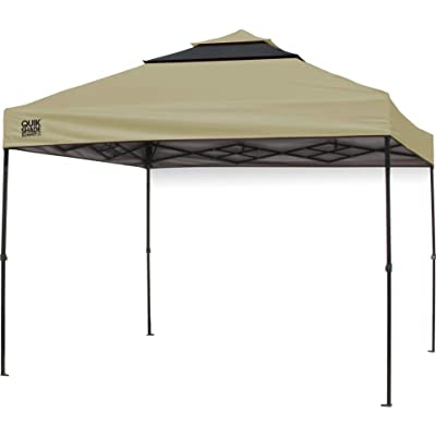 MISC Shade Vented Instant Canopy Tan Polyester: Home & Kitchen