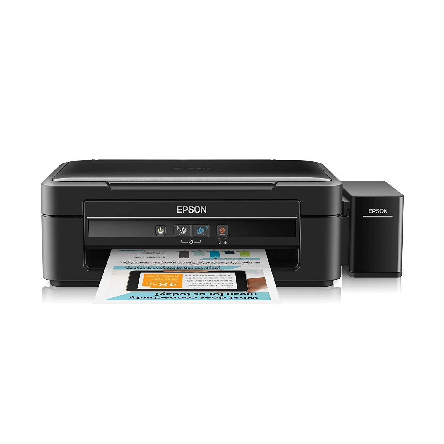 Epson L360 Multi-Function Ink Tank Colour Printer (Black)