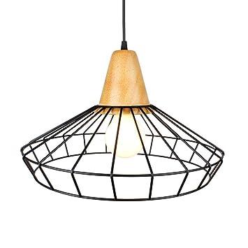 Luz Decorativa Colgante de Moda, Lámpara de Araña de Estilo Retro ...