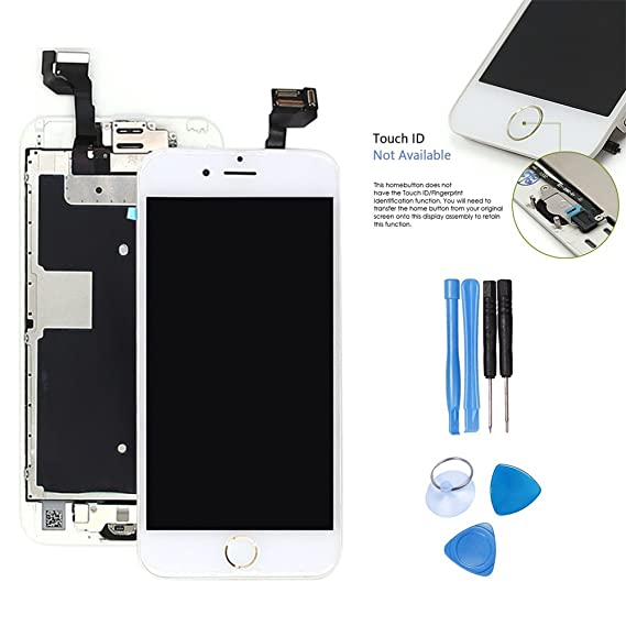 be9acfe7c4c LCD Touch screen replacement 6S - ibaye YA-W1451 2017 For iphone 6S White  gold