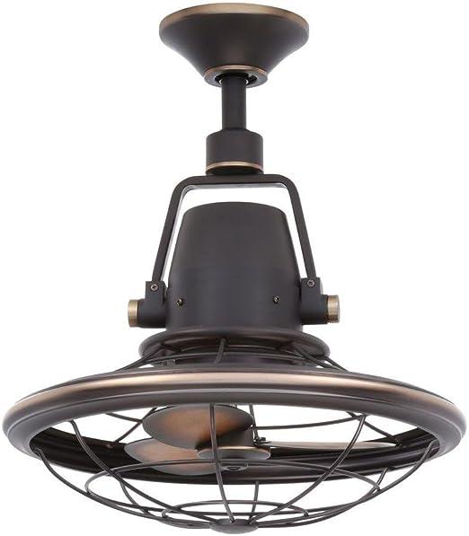 Bentley II - Ventilador de techo oscilante para exteriores, de ...