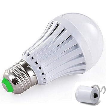 Vyaime - Bombilla LED de emergencia para exteriores de lluvia, casquillo de lámpara de camping