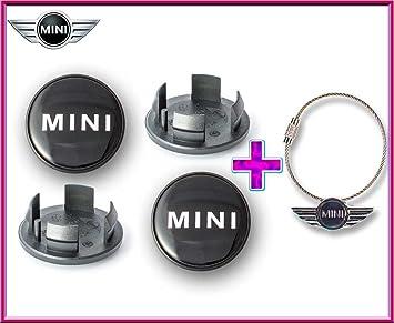 Mini Cooper Logo Rueda Centro Tapa Emblemas Adhesivos 54 mm ...