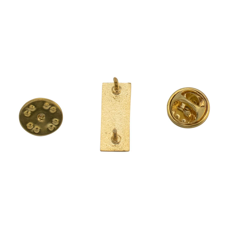 Smith /& Warren Small Lieutenant bars Collar Brass Insignia Gold Finish