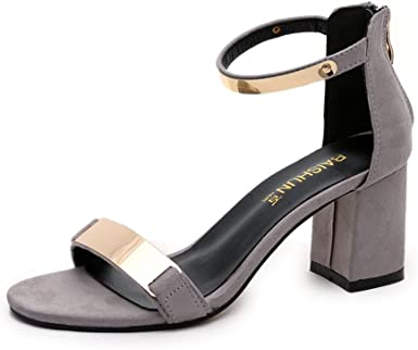 VECDY Sandalias, Moda Zapatos Mujer Cuñas Sandalias De