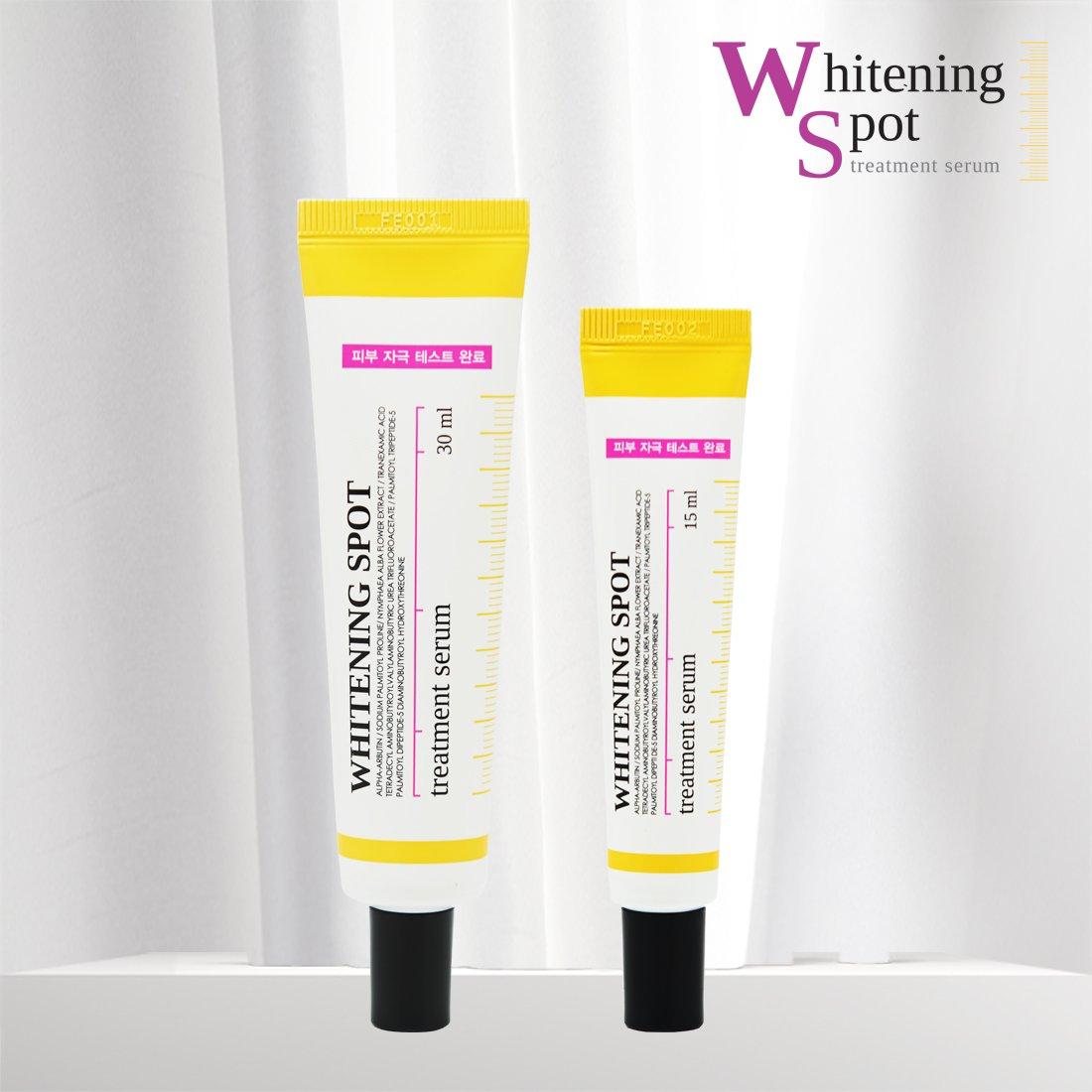 CNKCOS Whitening spot treatment serum / Made in Korea (30ml) City Color F-0054C Blotting Paper - Green Tea Scented