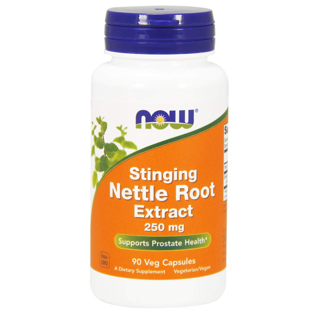 NOW Nettle Root Extract 250mg,90 Veg Capsules