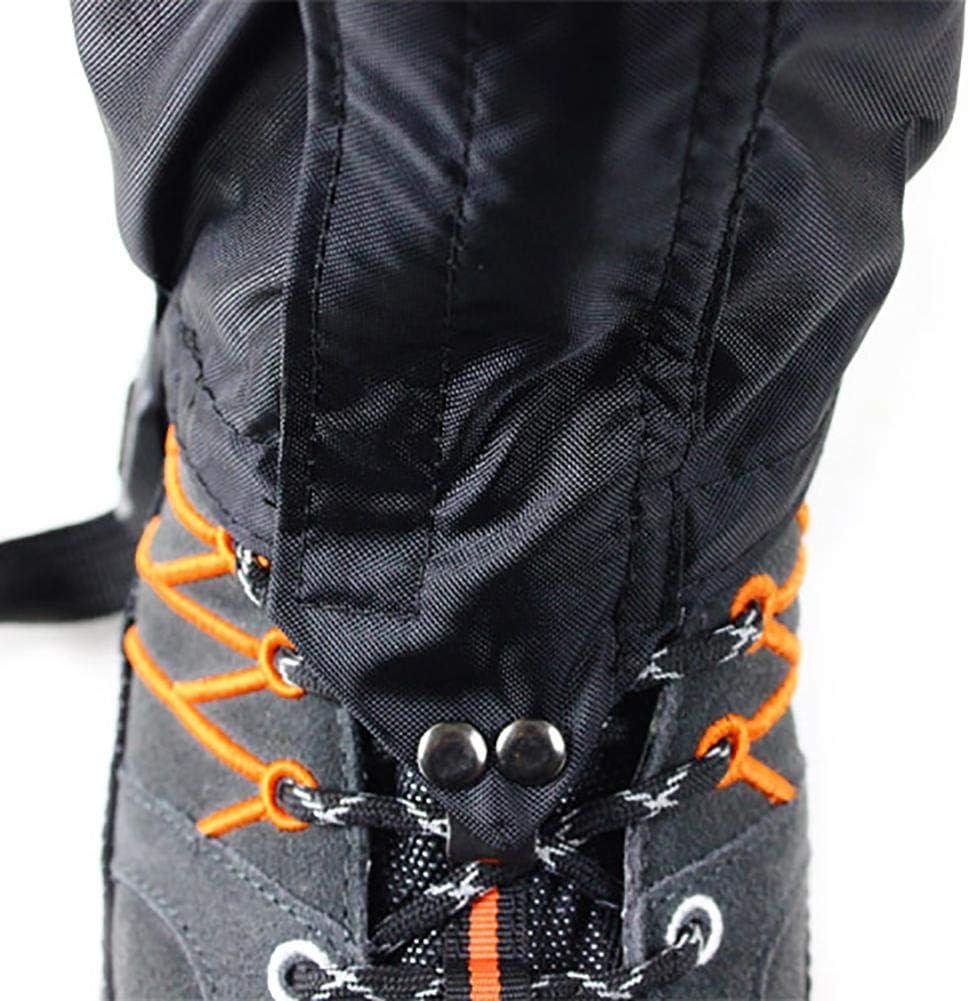 Paradesour Ghette antineve Impermeabili Guanti da Trekking Camminate da Arrampicata Caccia Leggings da Ciclismo Cover 1 Paio