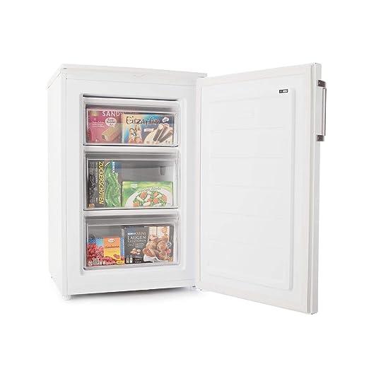Klarstein Garfield XL Eco+ - Congelador, 80 litros, 3 cajones ...