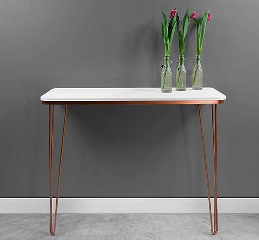 Zespoke Harnal - Mesa consola de cobre, mesa de recibidor: Amazon ...