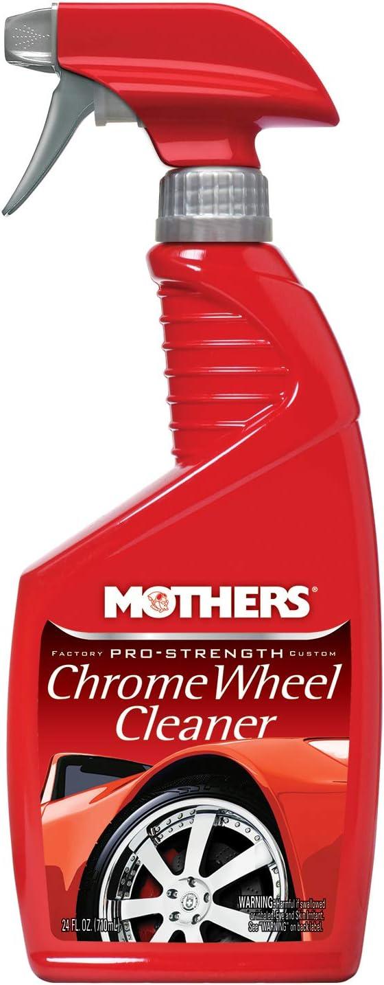 Mothers 05824 Pro-Strength Chrome Wheel Cleaner, 24 fl. oz.
