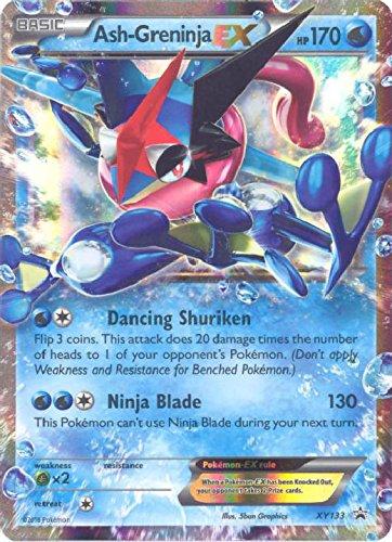 Pokemon Ash Greninja EX XY133 Black Promos product image