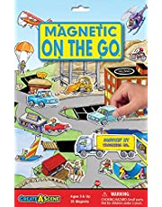 Create-A-Scene Magnetic Playset - On the Go
