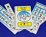 Potty Training Set for Autism - PECS Visual Aid for Using the Toilet - Hand Washing Schedule and Potty Sequence