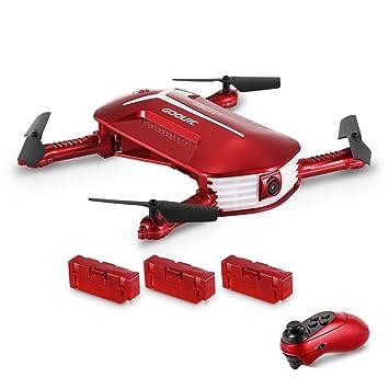 GoolRC Drone con cámara, T37 Mini 2.4G 6 Axis Gyro WiFi FPV 720P ...