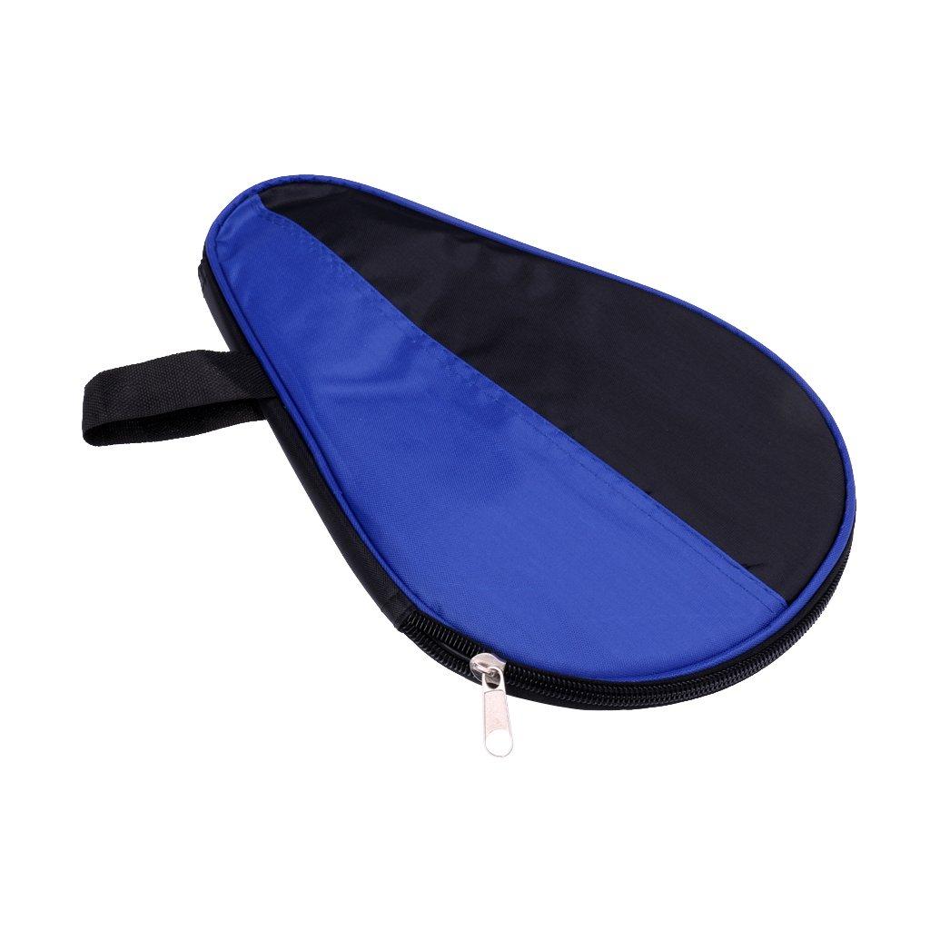 Sharplace Borsa Sacchetto per Ping Pong Racchetta Paddle da Tavolo Tennis Caso Custodia Protezione con Zipper, 27.0 * 17.7 * 1.0 cm