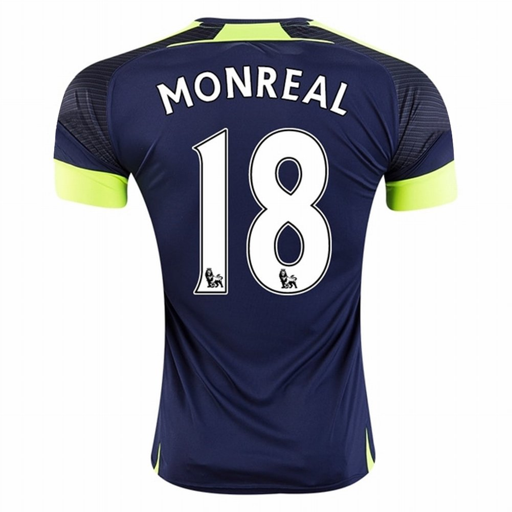 Maillot Domicile Arsenal Nacho Monreal