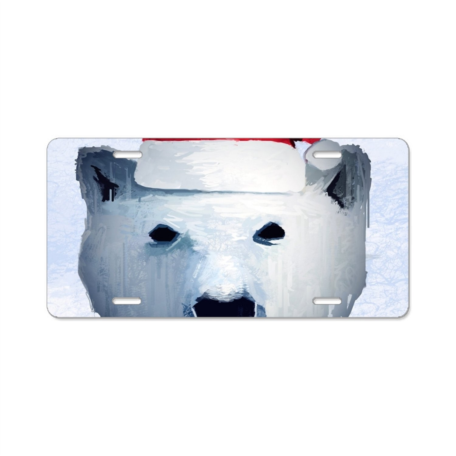 Imtailang The Wolf Custom Plate Frame Stainless Steel Express Personalized Tag Holder
