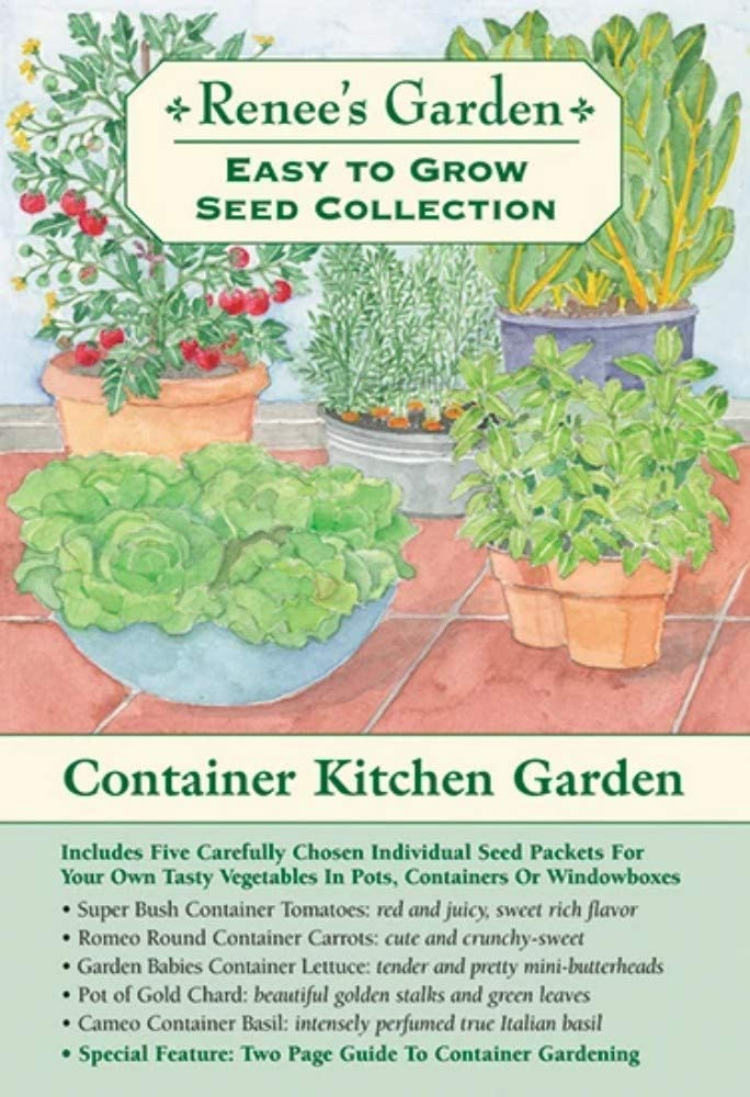 Renee's Kitchen Garden Container Collection - Easy to Grow Seed Collection