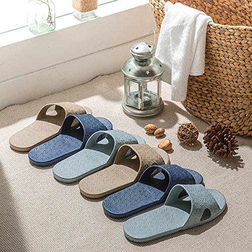 House Pool Bathroom Non with Bag slip Shoes Storage Shower Free Linen On Slide Mule a Slipper Sandals green Slip Trip Lightweight Foldable for gxqwRUfqZ