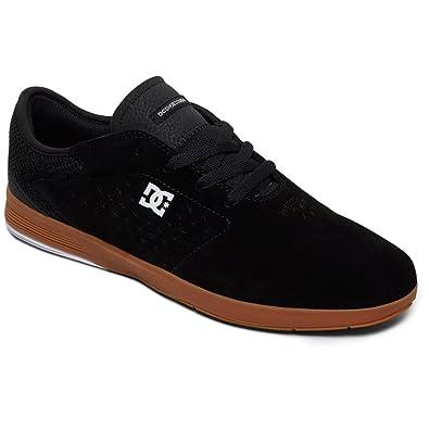 DC Mens New Jack S Shoes, Black/Gum, 6D