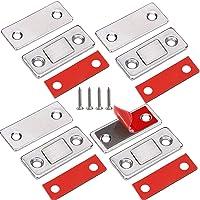 Deurmagneet Jiayi 4 Stuks Ultra dunne magnetische deurvanger Lade-magneet Roestvrij staal Magnetische…