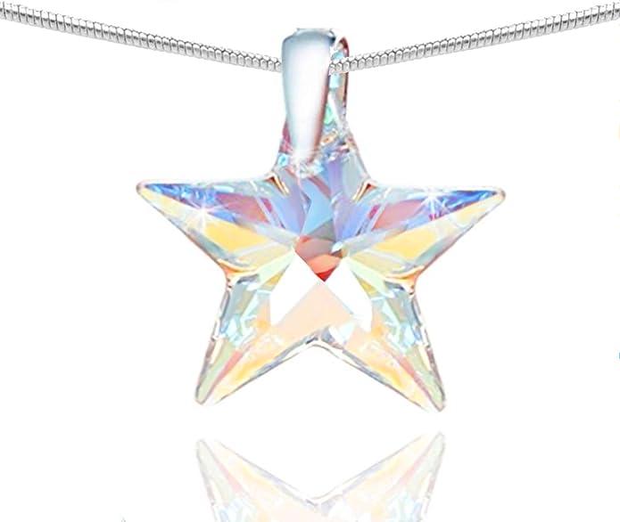 Silver Estelle Star Choker