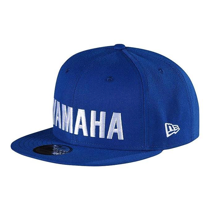 Amazon.com  Troy Lee Designs Yamaha RS1 Snapback Hat Blue  Sports ... 4194ef6d8d7