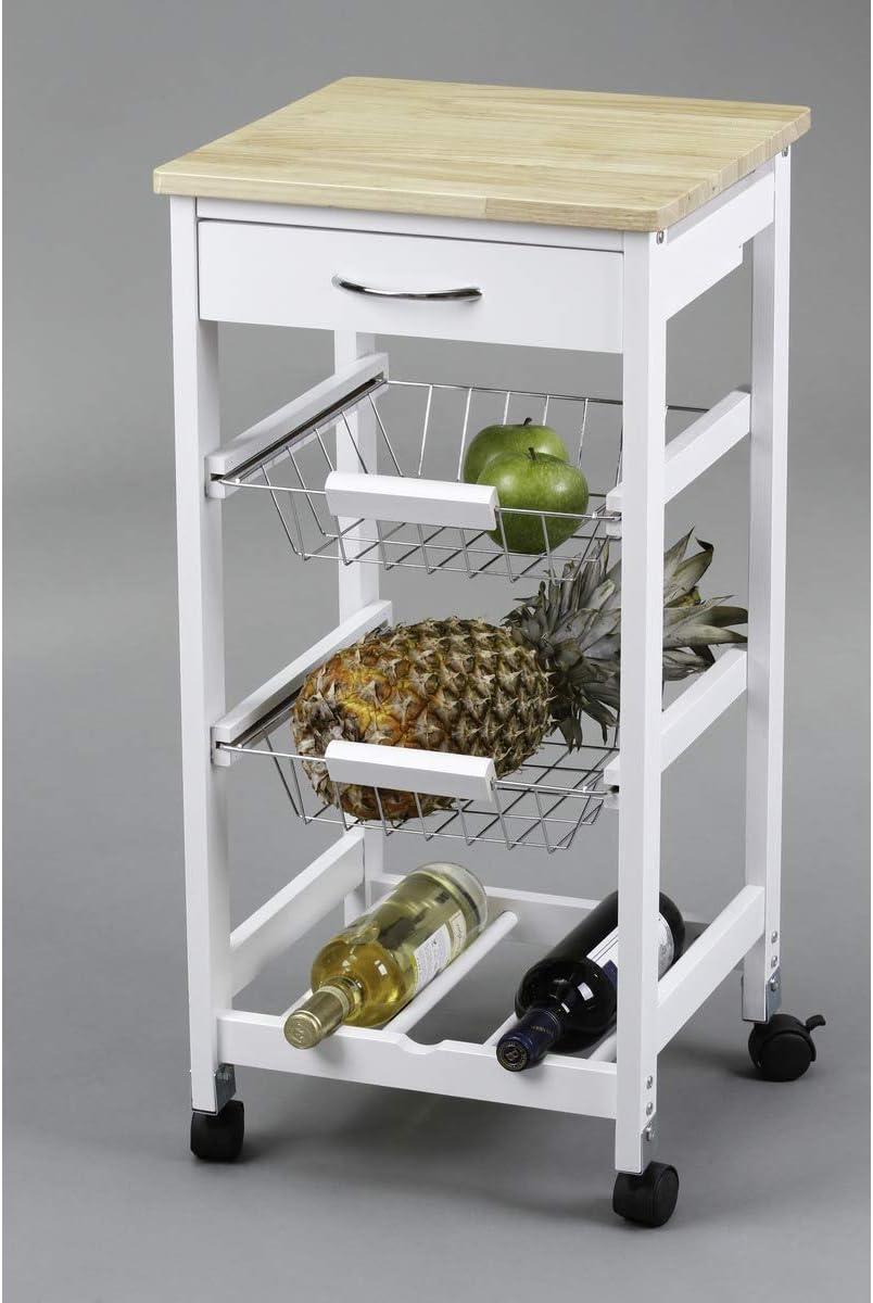 Kit Closet 7040028002 - Carro de cocina con cestas + botellero ...