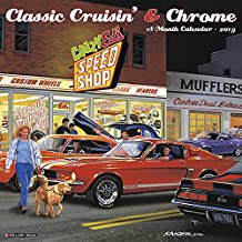 Classic Cruisin' & Chrome 2019 Wall Calendar