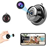 Mini Camera Nanny cam Spy Camera with Audio, Home Surveillance Camera, Two-Way Voice and Video Call, 1080P IP HD Infrared Nig